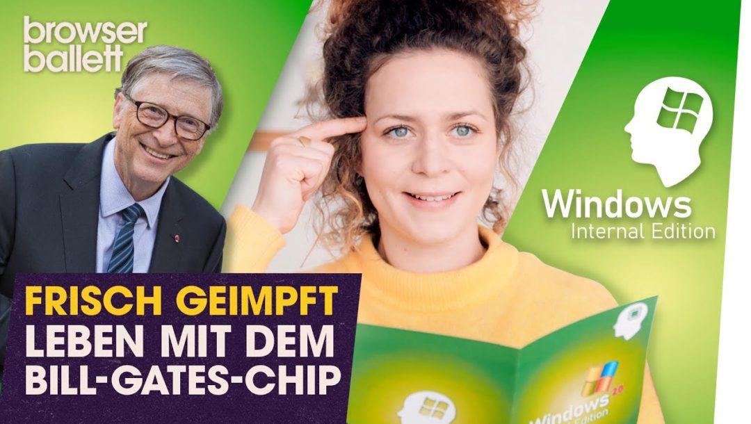 Frisch geimpft: Leben mit dem Bill-Gates-Chip
