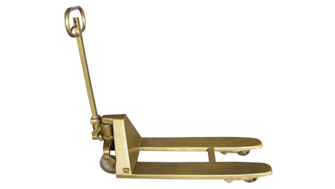 goldener Hubwagen*