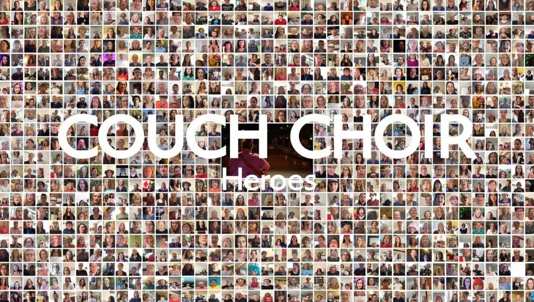 Heroes von 6000 Menschen auf der Couch gesungen