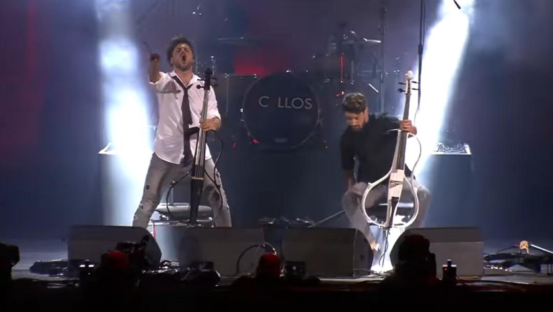 Thunderstruck auf 2 Cellos