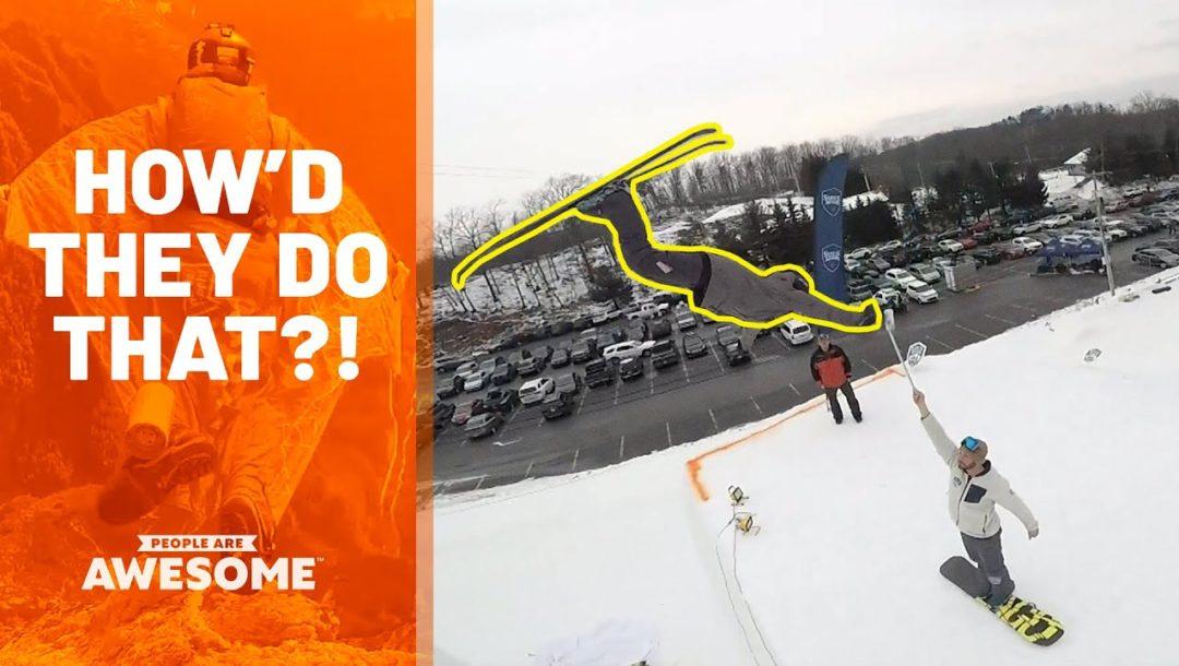 Extreme Ski Flips and more / Wie machen die das?!