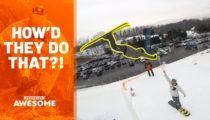 extreme ski flips and more wie machen die das   DQzBDad0o Sinnlos Internet - Die sinnlose Portion Spaß