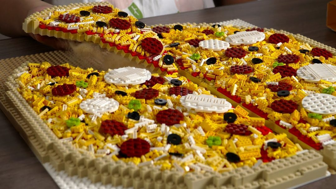 Lego Pizza – Stop Motion