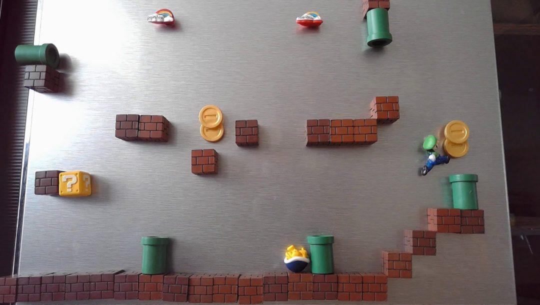 Super Fridge Mario World 1