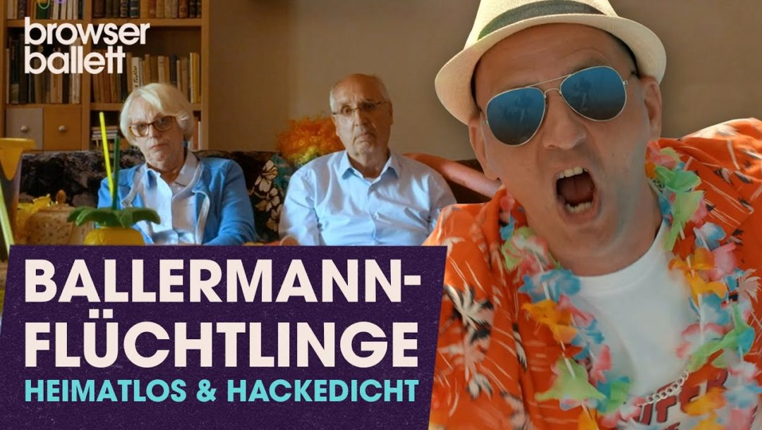 Ballermann-Flüchtline: heimatlos und hackedicht