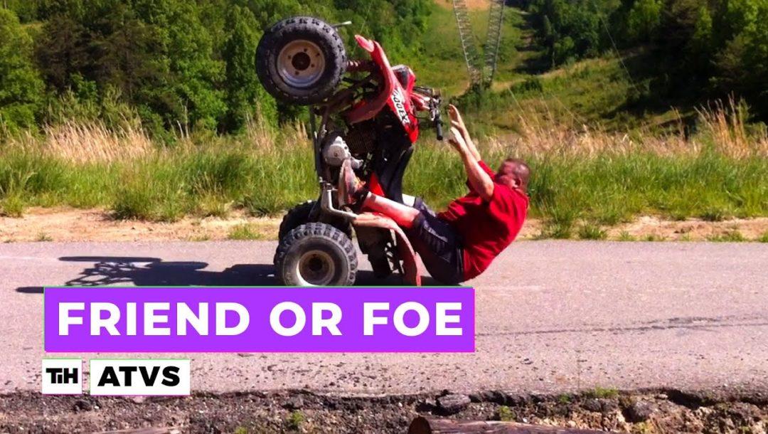 Quads / Unfälle und Stunts