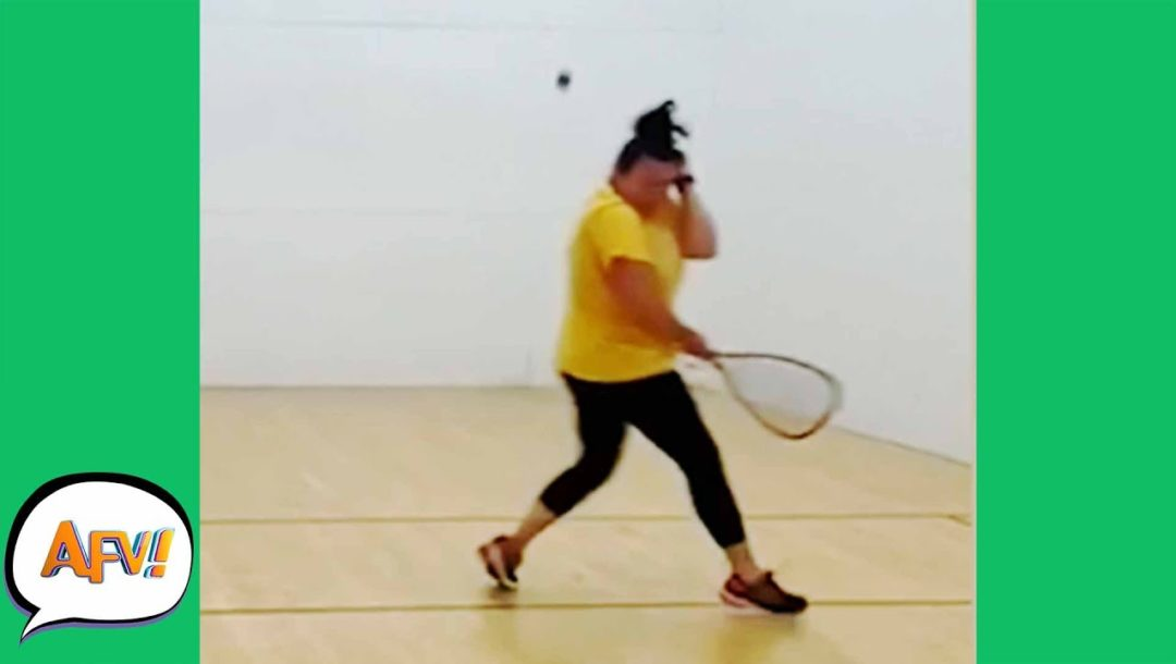 Rocked by Racketball / Funny Fails