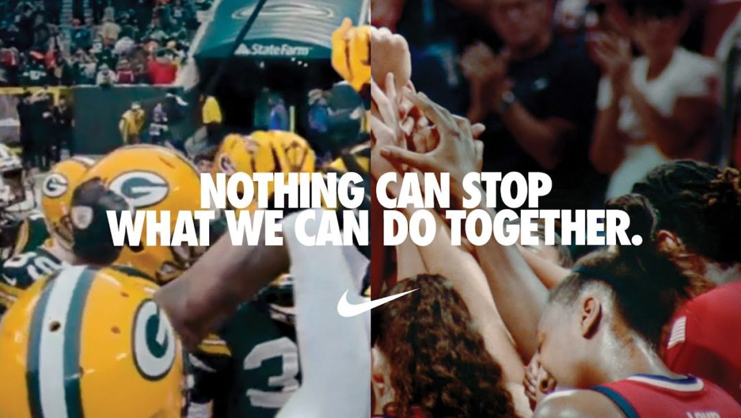 Nike Werbung – Never can stop us