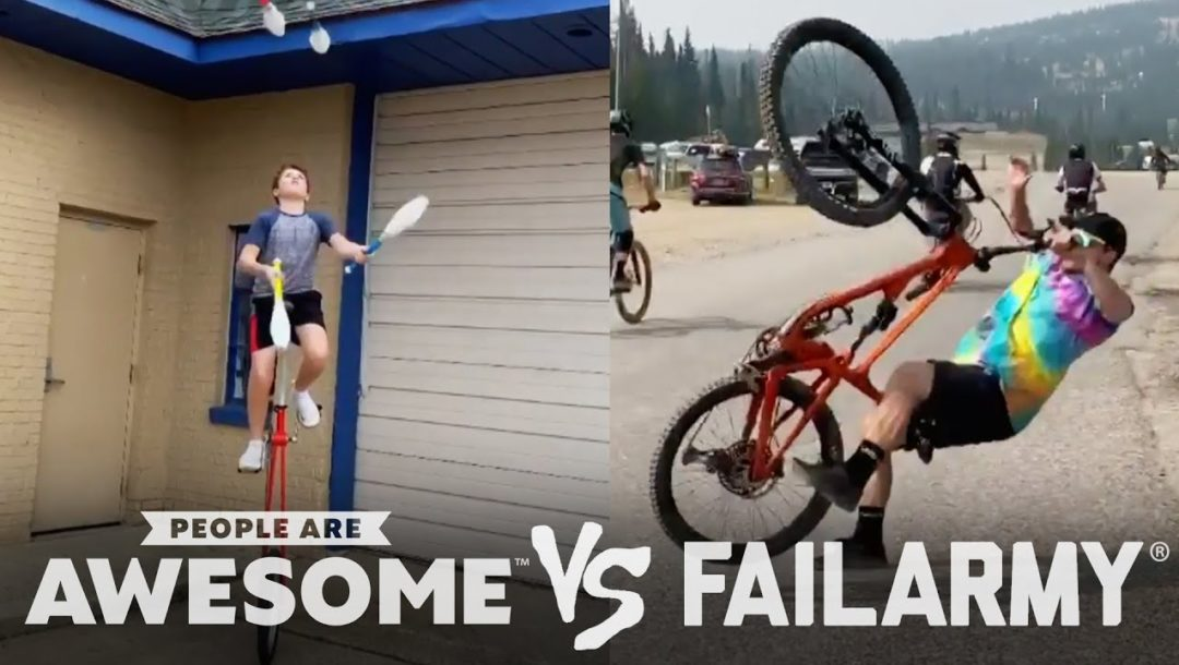 Wins and Fails! | People Are Awesome Vs. FailArmy