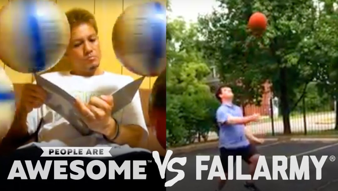 Birds Attacking Cyclists, Basketballs to the Face & More | People Are Awesome Vs. FailArmy