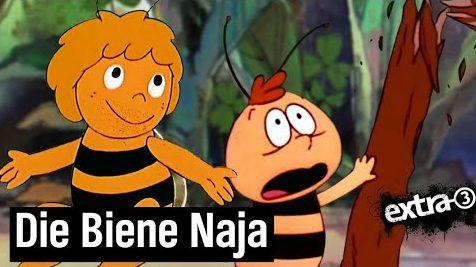 Die Biene Naja und die industrialisierte Landwirtschaft