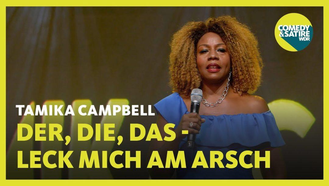Tamika Campbell: Deutsche Sprache, schwere Sprache