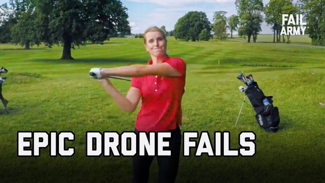 Epic Drone Fails