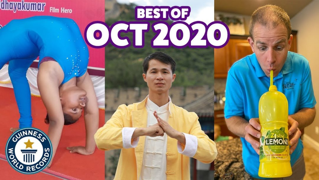 Guinness World Records – Best of Oktober 2020