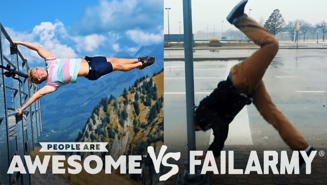 People are awesome vs Failarmy